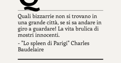 """""""Lo spleen di Parigi"""" di Charles Baudelaire"""